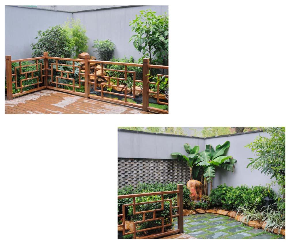 后花园效果图&